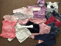 Clothes for baby girl 3-6 months 16 items