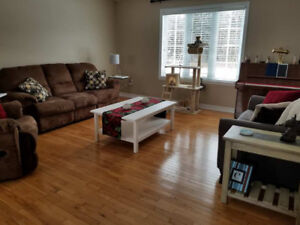 Short or long term room rental in Middle Sackville (Millwood)