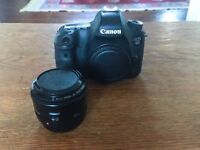 Canon 6D and 50mm 1.8 lens
