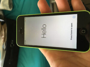 iPhone 5C - locked to Bell