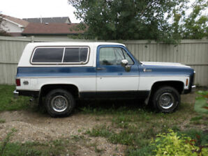 1980 GMC Jimmy - Project Vehicle