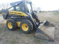 New Holland L185 Skidsteer 82 HP with only 1386hrs