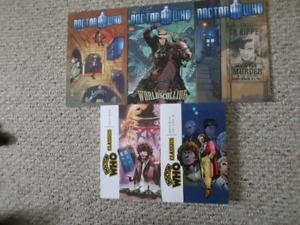 Doctor Who graphic novels, mint condition