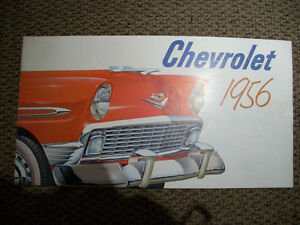 1956 Chevrolet sales brochure