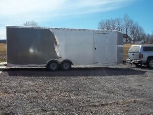 24 ft., 2015 Neo Aluminum Toy Hauler