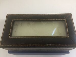 Fossil Leather Watch Box West Island Greater Montréal image 3
