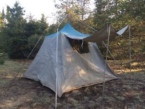 Vintage Woods Canvas Tent