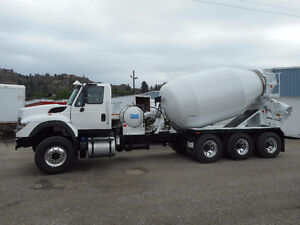 Brand New tri-drive mixer truck with london mixer