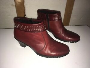 Leather Rieker Boots
