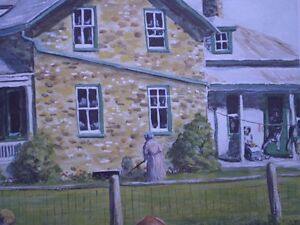 """Roger Witmer """" Little Red Wagon """" Limited Edition Print Kitchener / Waterloo Kitchener Area image 10"""