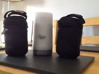 Tommee Tippee flask and bottle bags