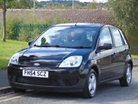 FORD FIESTA 1.4TDCi ( a/c )1398cc 2004 LX,ONLY 77,LONG MOT,LOW TAX AND INSURANCE