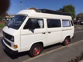 White T25 Campervan