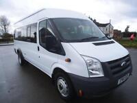2011 FORD TRANSIT 2.2 140 430 16 SEAT MINIBUS *BUY FROM £62 P/W* MINIBUS DIESEL