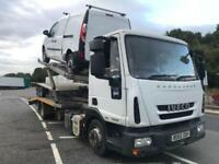 2010 IVECO EUROCARGO recovery truck