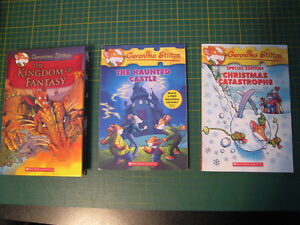 Geronimo Stilton books (x3)