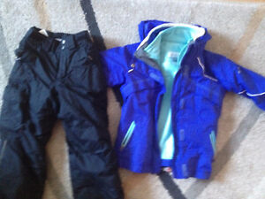 Columbia 3 in 1 girl's snowsuit 6/ 6x. AVAILABLE