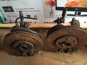 Vw Volkswagen Jetta golf Big brake kit vr6 mk4 24v knuckle