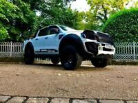 2014 Ford Ranger Seeker Raptor wide boy edition with 285 deep dish wheels and...