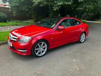 STUNNING RED AMG SPORT EDITION AUTOMATIC- GREY INTERIOR- PANORAMIC ROOF