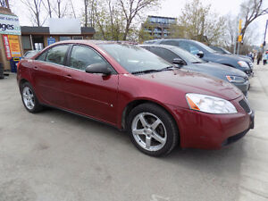 2008 Pontiac G6 SE Sedan-AUTO-SUNROOF-REMOTE STARTER-LOW Ks