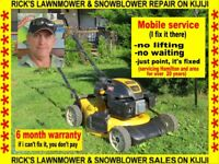 RICK'S LAWNMOWER & SNOWBLOWER REPAIRS