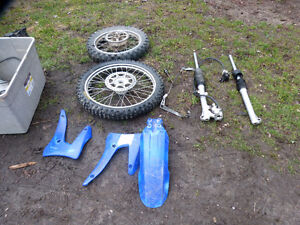 Yamaha TTR 125 big wheel parts