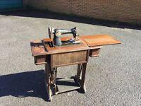 Singer sowing machine: antique