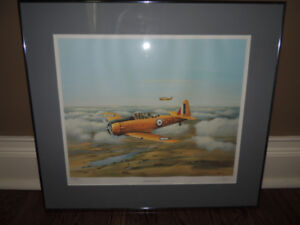 C.G. Pattle North American Harvard, Signed, Numbered Print