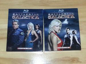 2 première saison Battlestar Galactica en blu-ray.