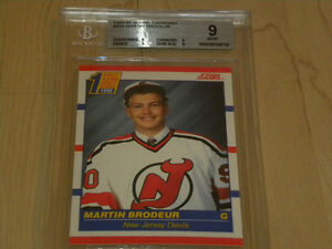 Martin Brodeur Rookie Card Find Art Antiques Vintage Items And