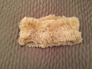 Saks Rabbit Fur Headband
