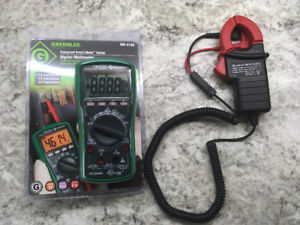 Greenlee DM-210A Digital Multimeter with CMA-40 Amp Clamp