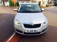 Mint..2008 Skoda Fabia 1.2....Full service.New Shape..years MOT...low Miles. 1 Owner £1850