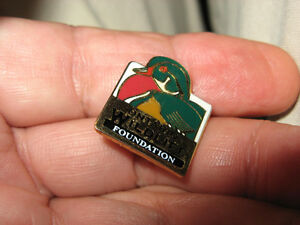 Ontario Wildlife Foundation Enamel Duck Pin -Ducks Unlimited