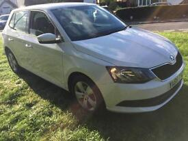 Skoda Fabia 1.0 ( 75ps ) 65 reg SE 1 year old Only 2800 miles take a look