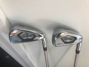 Titleist AP3 Right Hand new this year 4 and 5 irons never hit