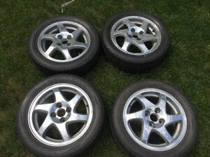 GSR Blades MINT avec pneus 205/50R15