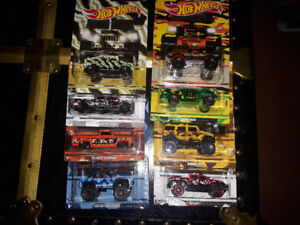 Hot Wheels Camo collection- set of 8