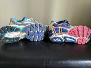 Size 8 women's Saucony running shoes Kitchener / Waterloo Kitchener Area image 2