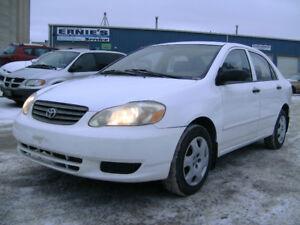 2004 Toyota Corolla CE Sedan