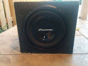 "PIONEER 10"" SUBWOOFER - 1000W"
