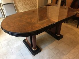 Spanish Extendable Dining Table and Sideboard