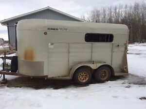 2004 - 14 Foot Combo Stock / Horse Trailer
