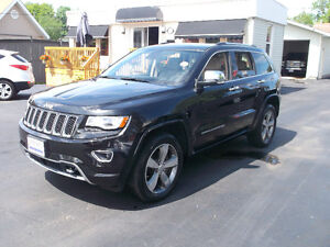 "2014 Jeep Grand Cherokee Overland SUV, Crossover ""DIESEL"""