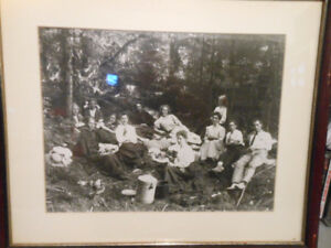 Vintage Family Photo, framed