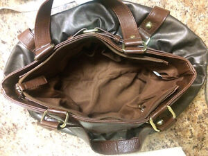 Large brown purse Kingston Kingston Area image 2
