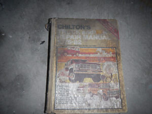 1975-1982 CHILTON TRUCK REPAIR MANUAL Peterborough Peterborough Area image 1