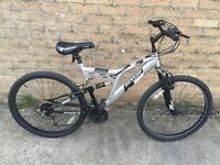 Dunlop Sport Full Suspension Bike. Serviced, Free Lights/Delivery.