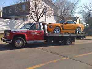 Towing plate forme GMC 3500 HD